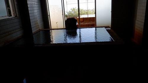 桜島シーサイドホテルの内湯と露天風呂