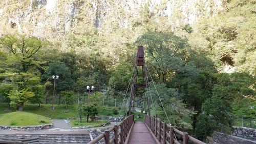 白滝と吊り橋