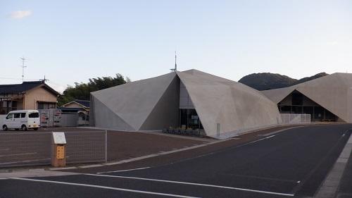 下関市川棚温泉交流センターの外観