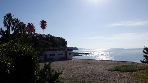 口之津温泉しらはまと海の光景
