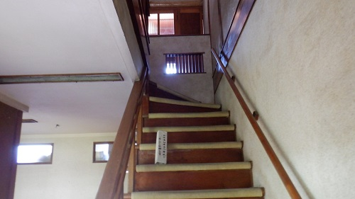 幸ヶ丘の階段