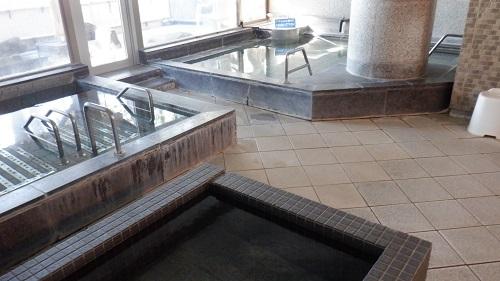 口之津温泉白浜ビーチホテル内湯入口からの全景