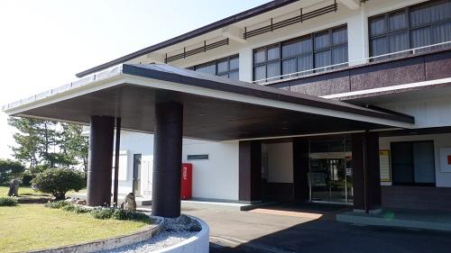 口之津温泉白浜ビーチホテル玄関付近の外観