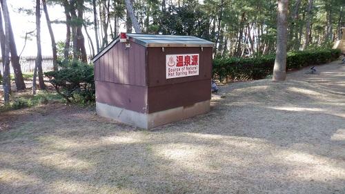 口之津温泉白浜ビーチホテルの源泉
