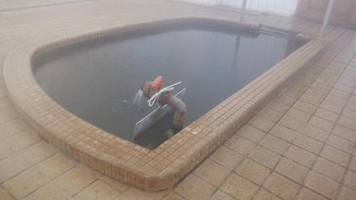 半楕円型の湯舟