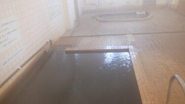 東郷温泉の浴室全景