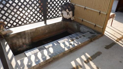 東郷温泉の足湯