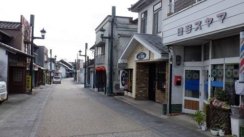 昭和の雰囲気がある街並み