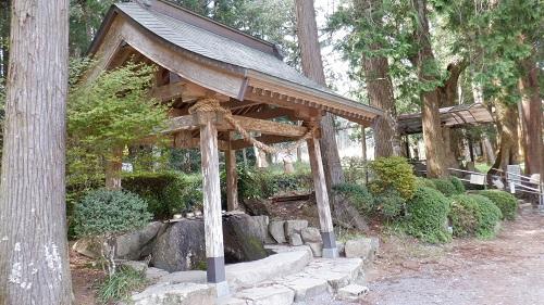 厳島神社の手水舎