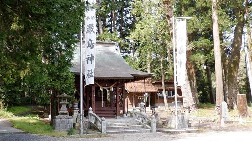 厳島神社の拝殿
