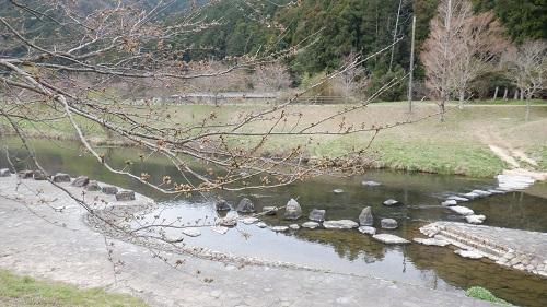 道の駅みとう敷地から行ける川